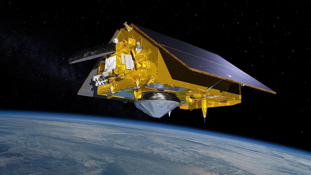 Спутник Sentinel-6 Michael Freilich. <i>NASA/JPL-Caltech</i>.