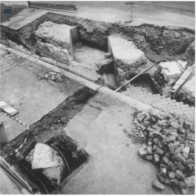 Раскопки комплекса мельниц Яникул, Рим