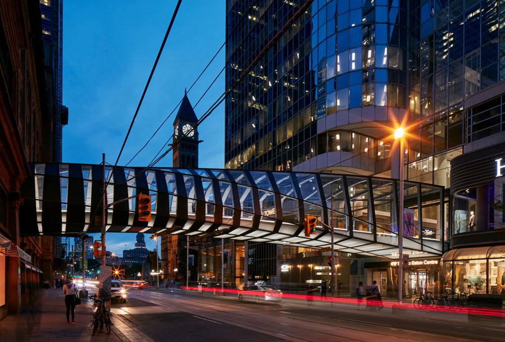 CF Eaton Centre Bridge, Toronto, Canada