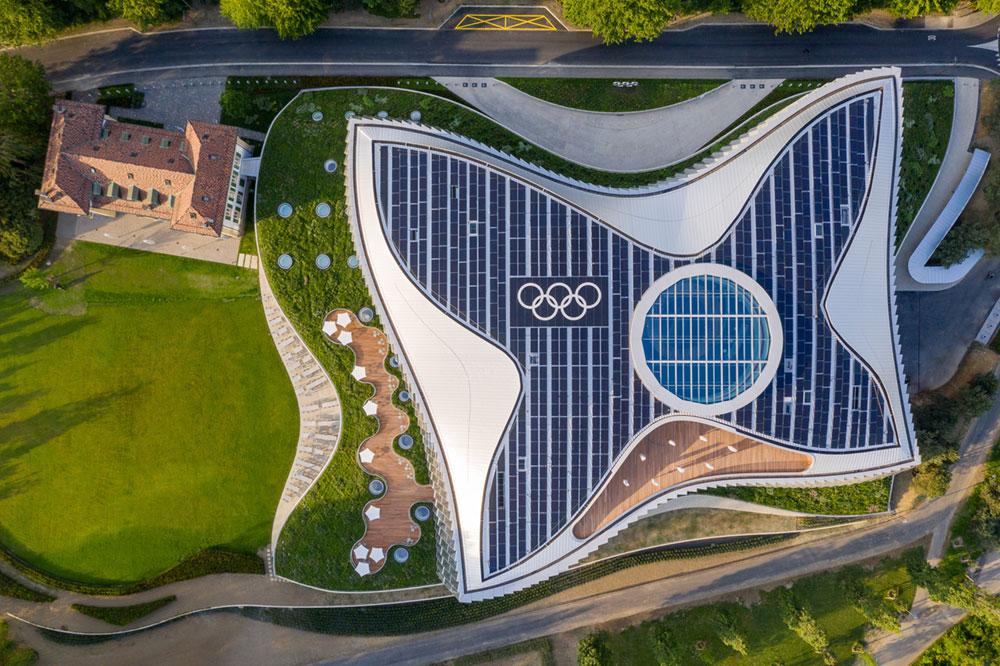 International Olympic Committee New Headquarters, Lausanne, Switzerland