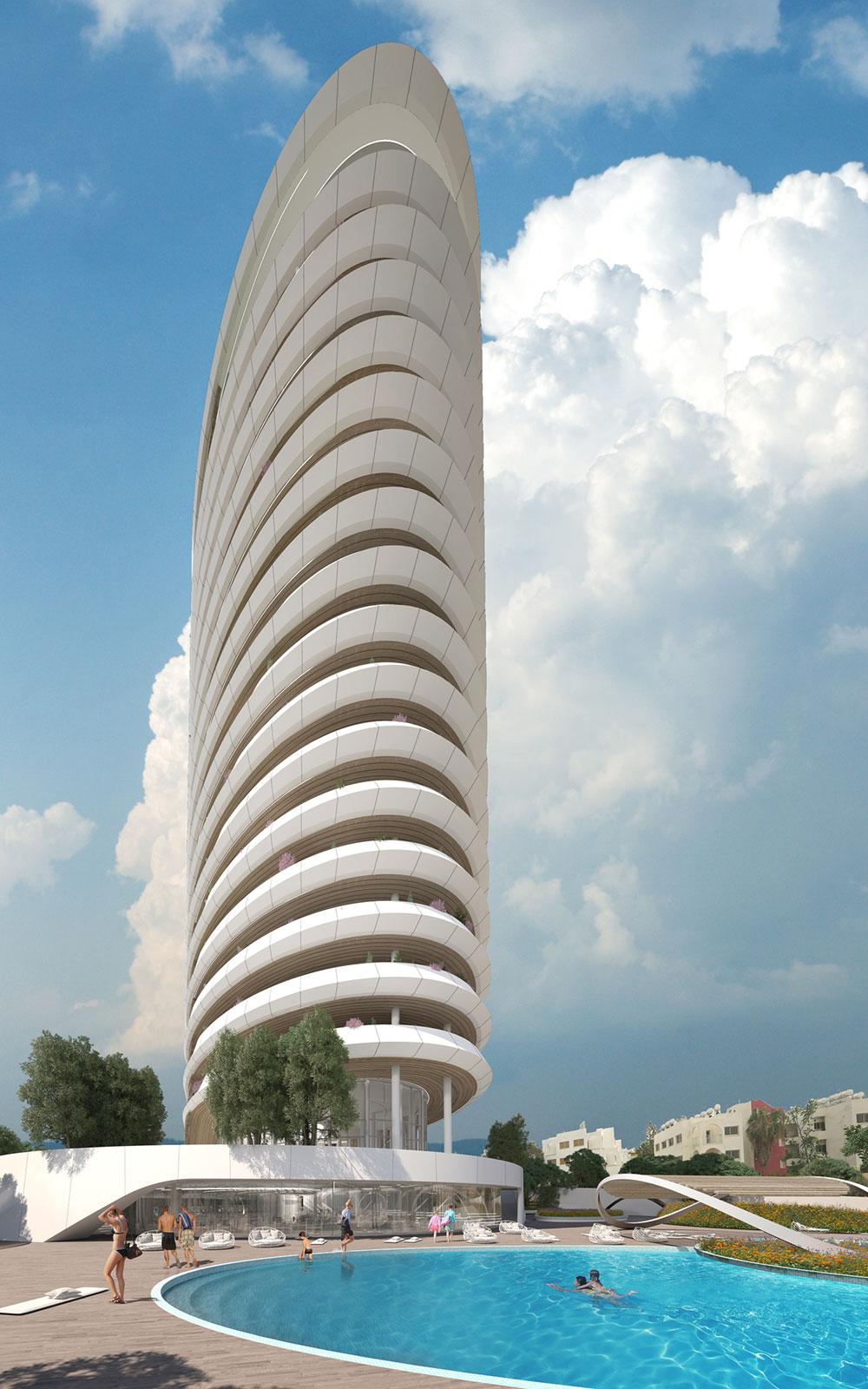 Sixty6 Tower by Pininfarina
