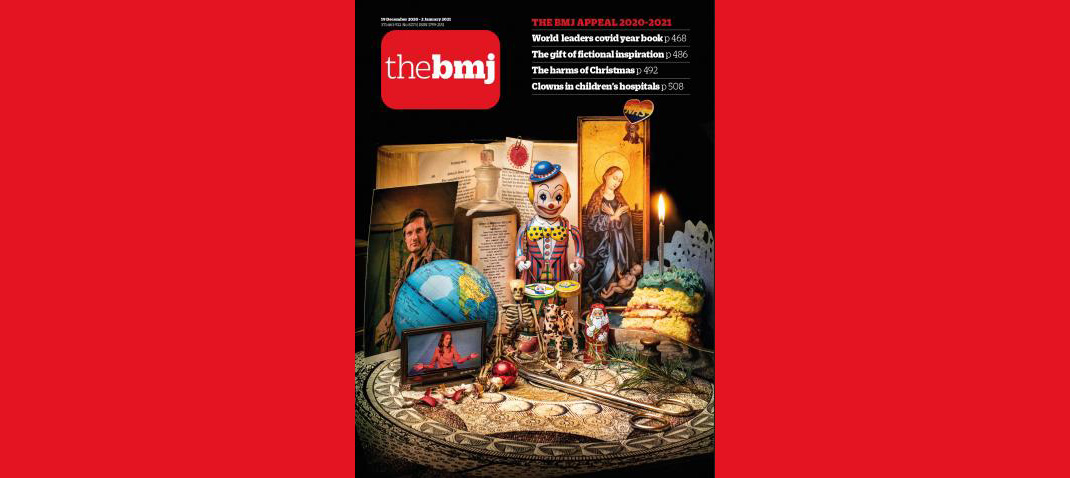 Обложка рождественского <i>BMJ</i>.