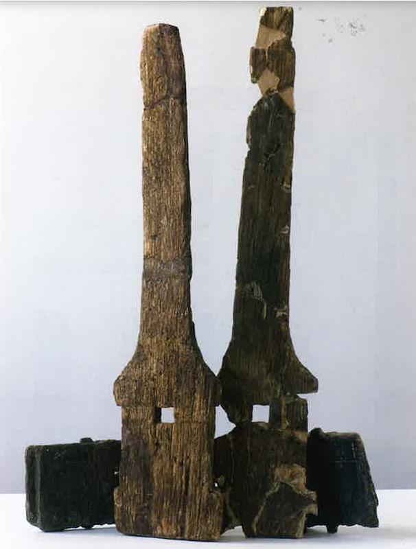 Деревянные части водяного колеса, найденного вCham-Hagendorn