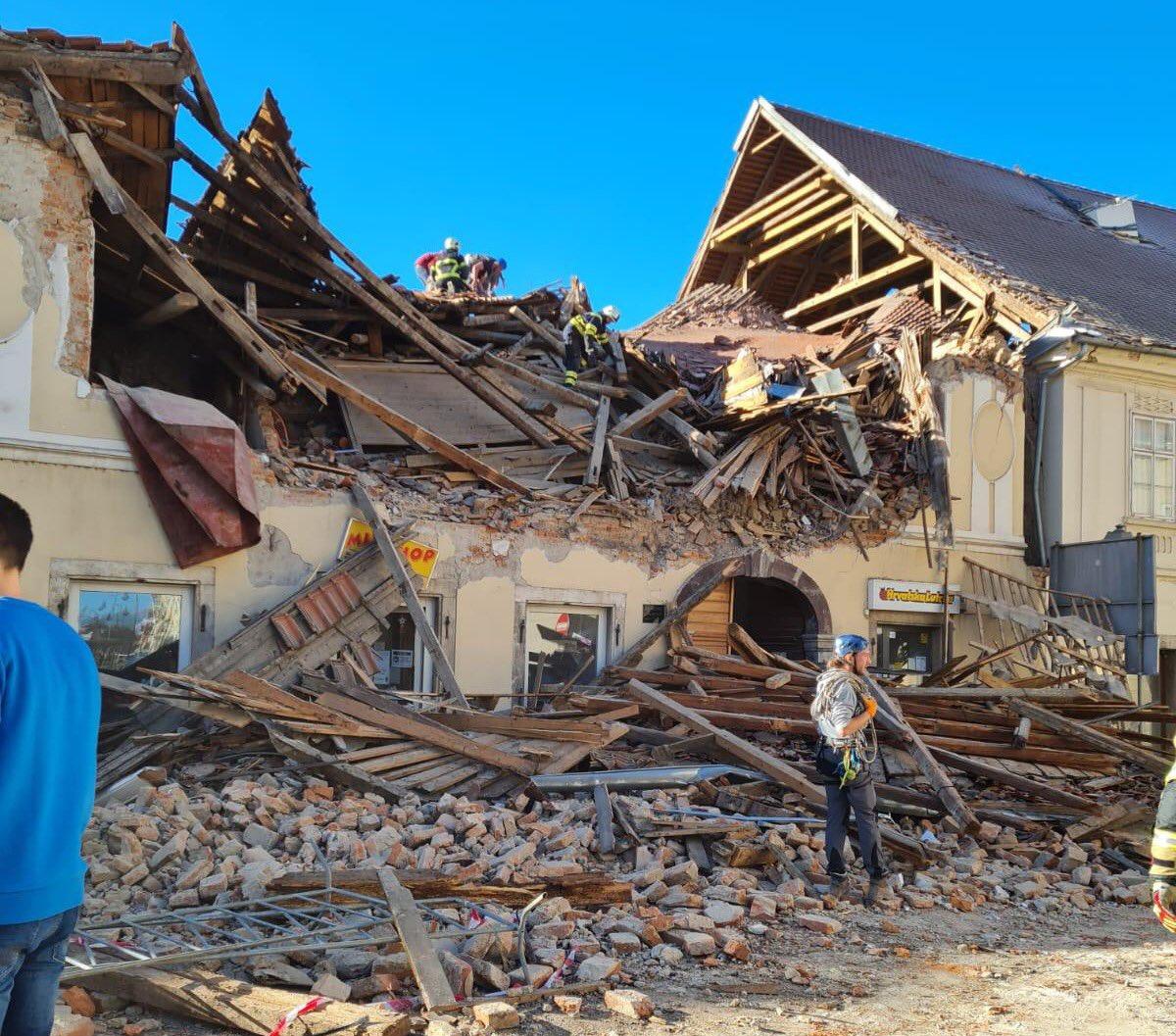Разрушенный дом вг.Петриня, 29 декабря 2020г.