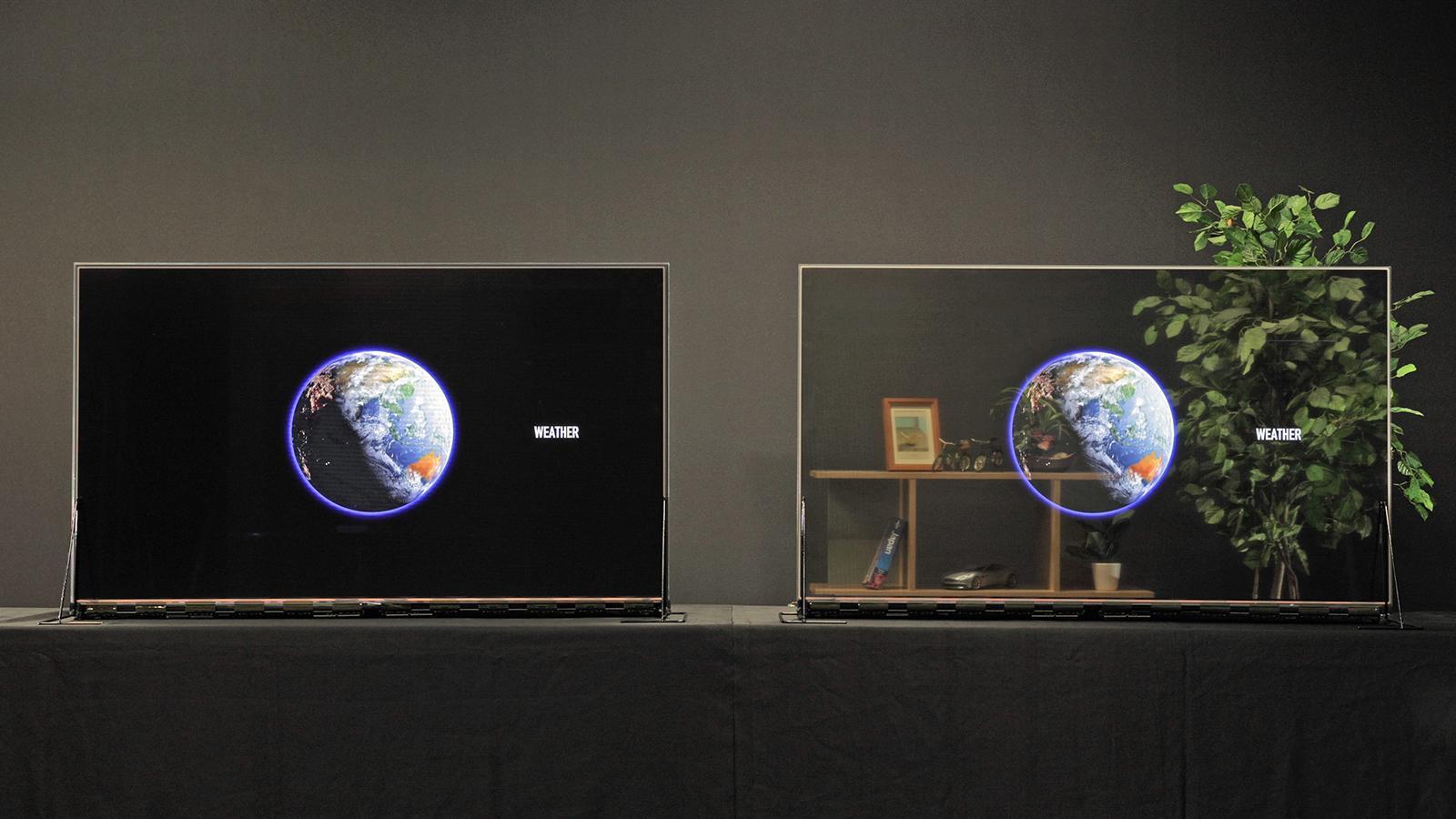 Panasonic начинает продажи прозрачных OLED-дисплеев