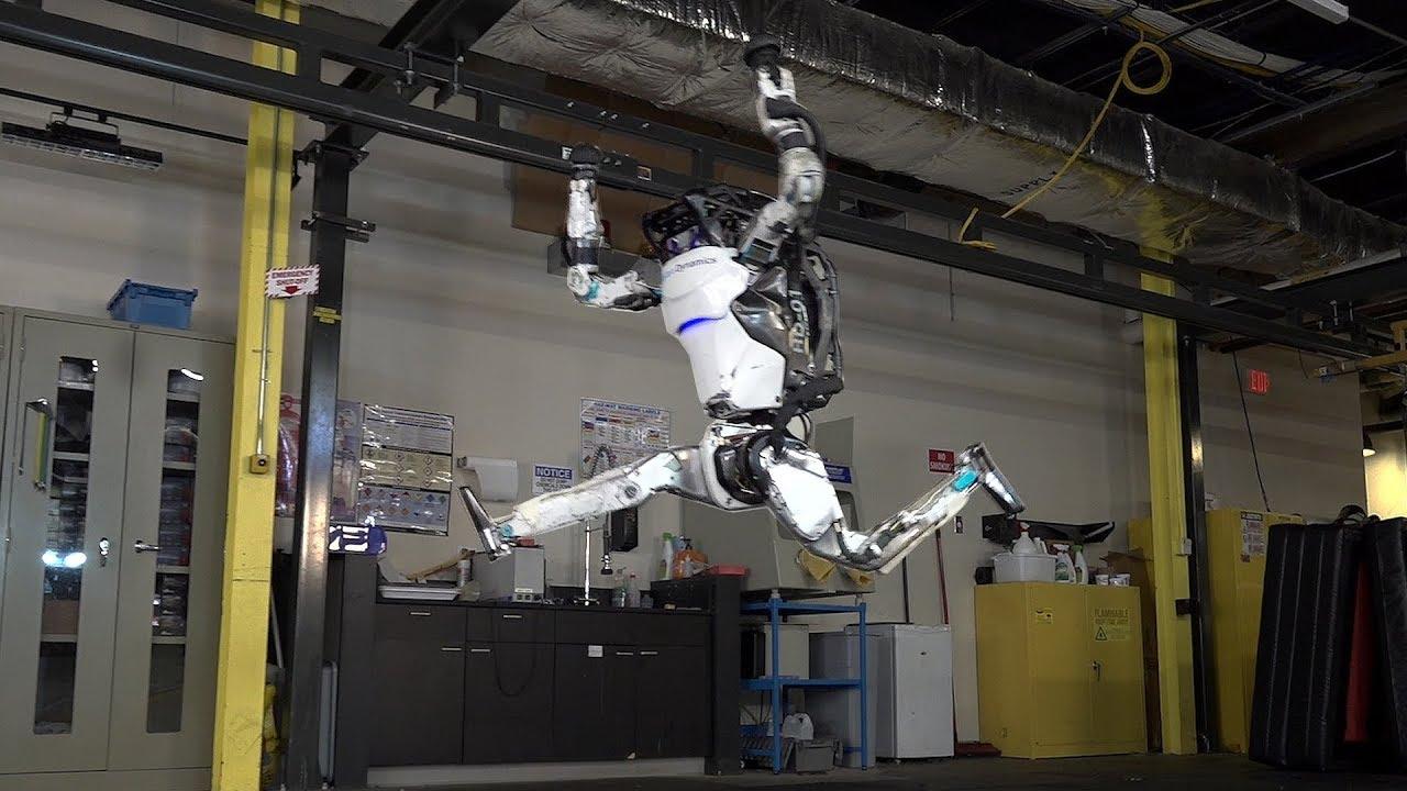 Робот <i>Atlas</i> от <i>Boston Dynamics</i>.
