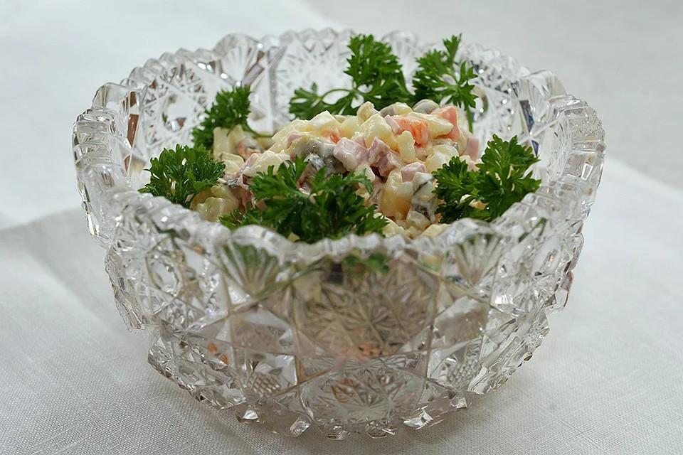 Оливье— салат иритуал.