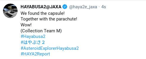 capsule found