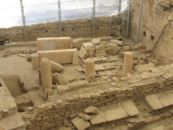 Остатки конструкции вХангхаусе, Эфес