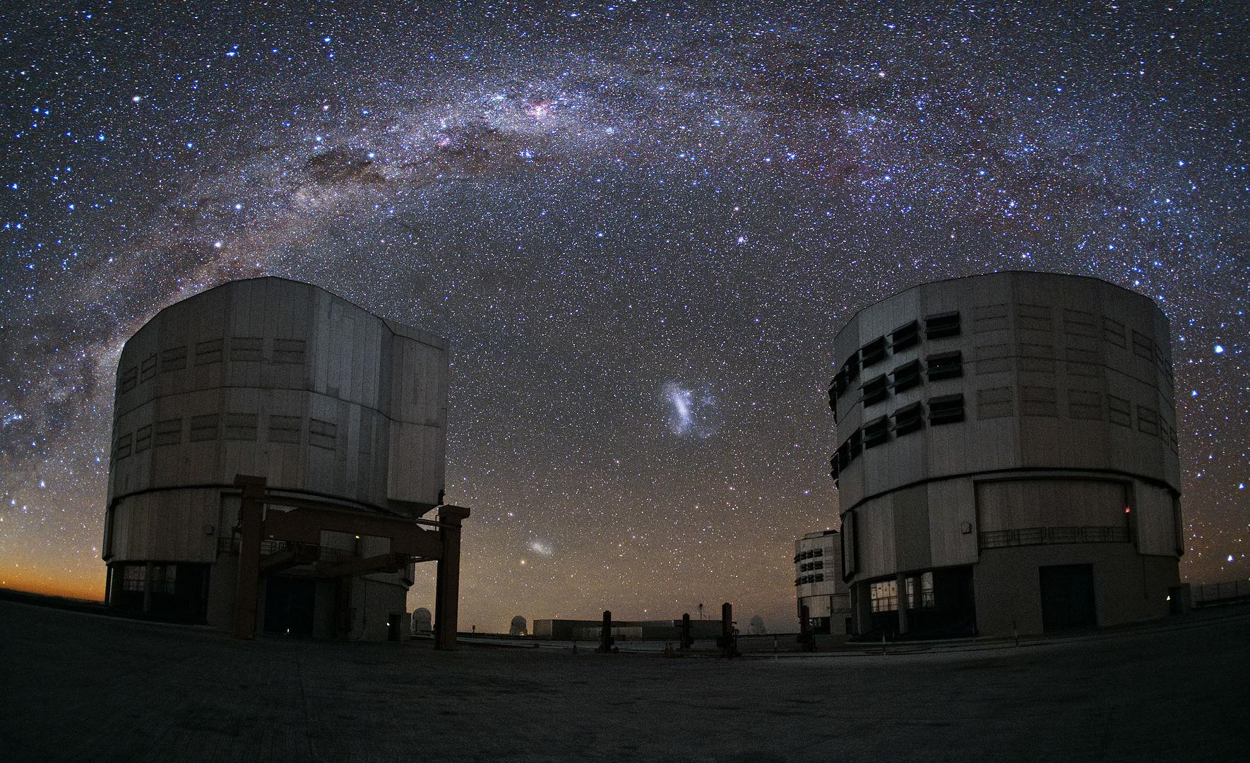 Paranal Observatory of ESO, Atacama, Chile