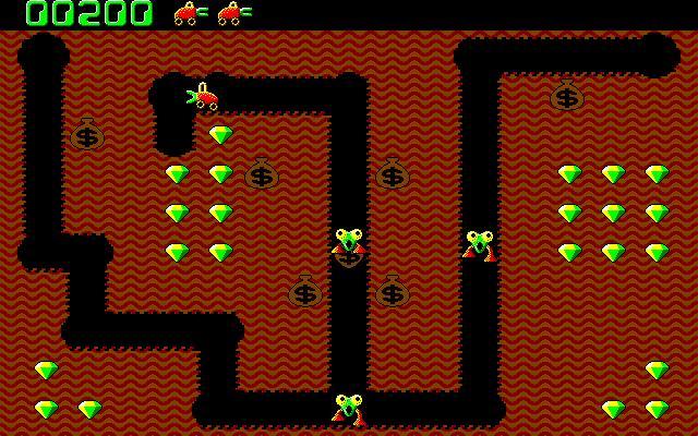 Digger arcade game
