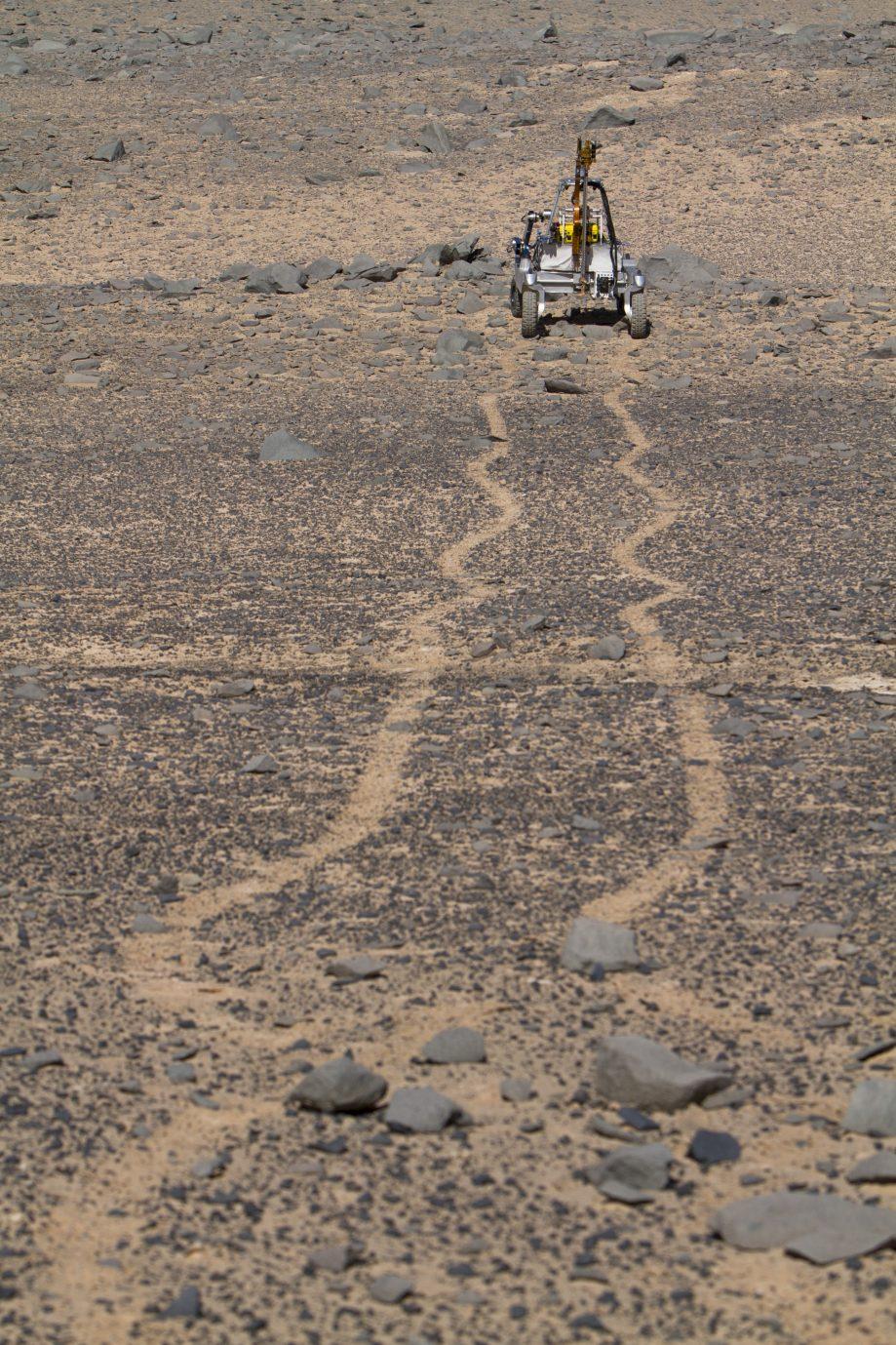 ARADS rover in Atacama