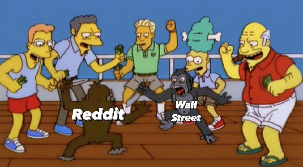 Один из мемов, посвящённых описываемым событиям.