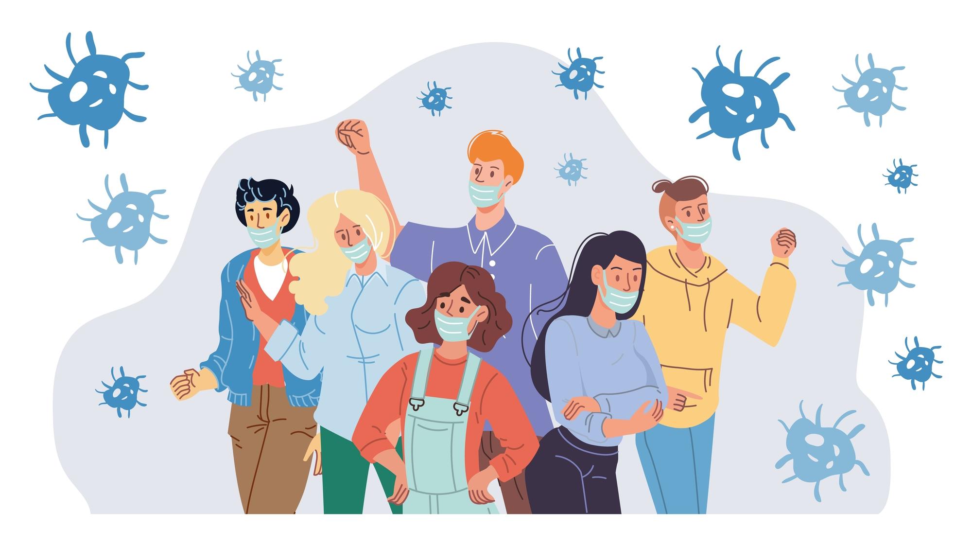 Сезон гриппа и«простуд» после отмены коронавирусных ограничений может оказаться более тяжёлым, чем обычно.