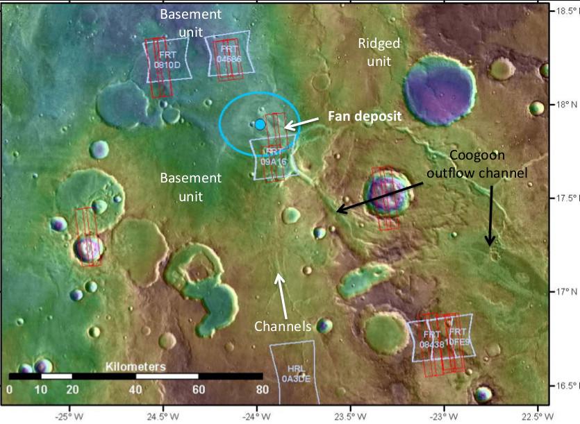 Oxia Planum geomorphology