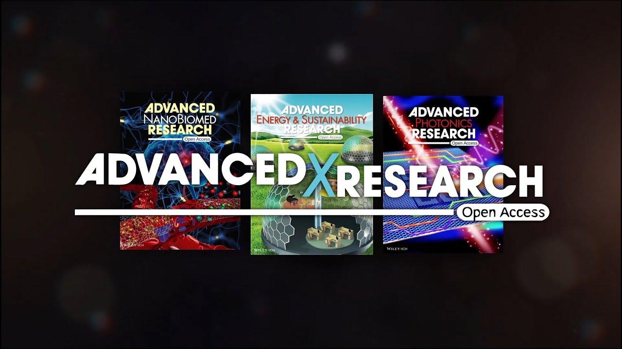 Обложки журнала Advanced Photonics Research.