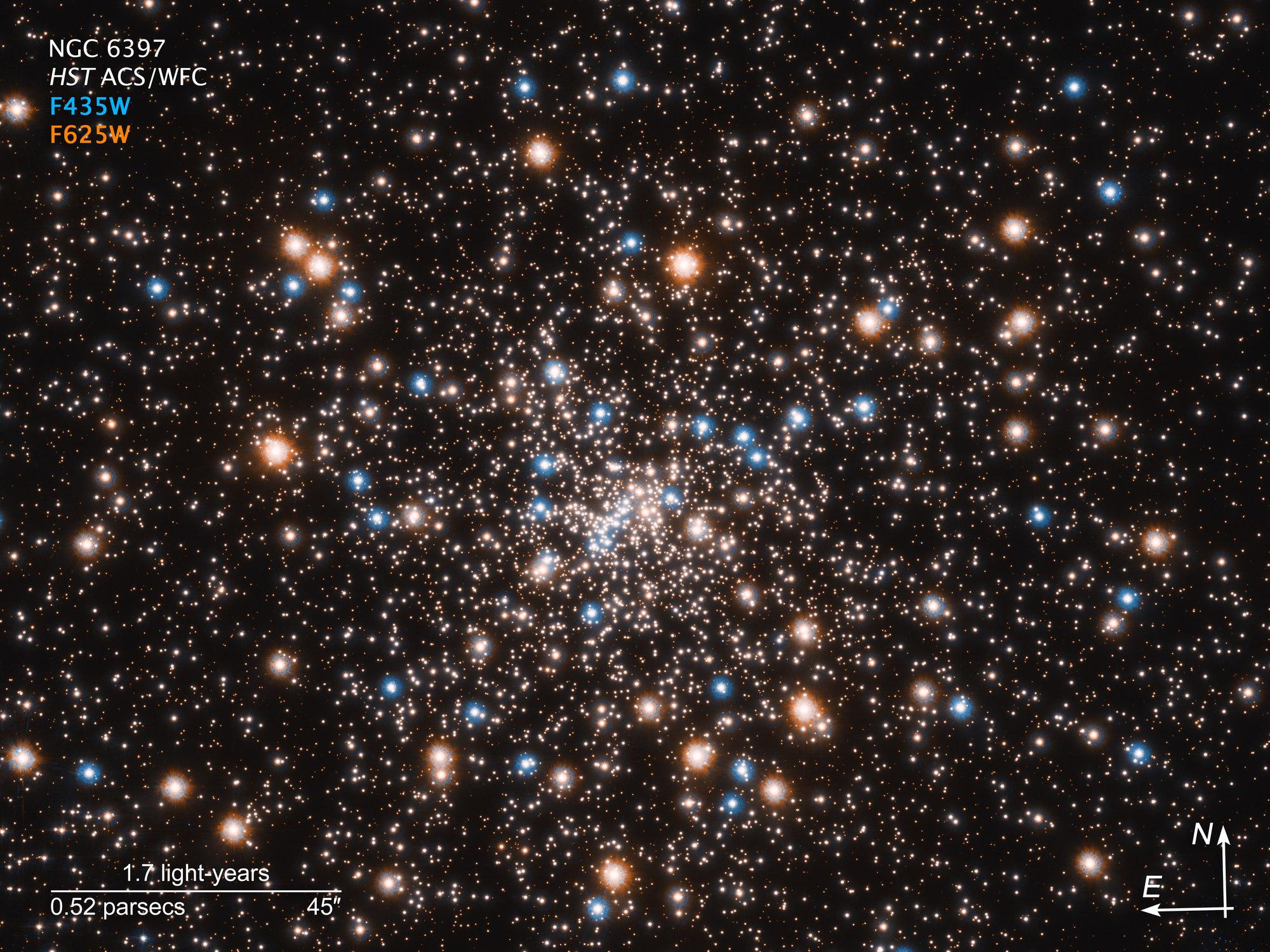 NGC 6397 globular cluster