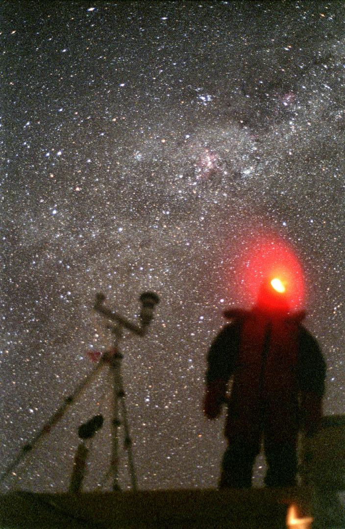 Milky Way above Dome C