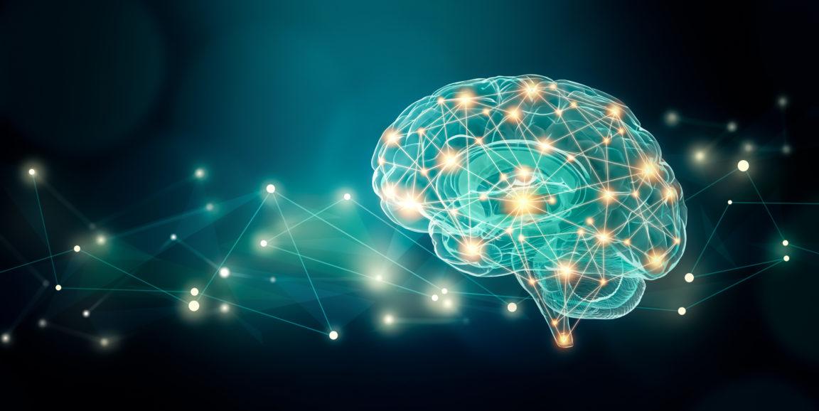 Система подключается кмоторной коре головного мозга.