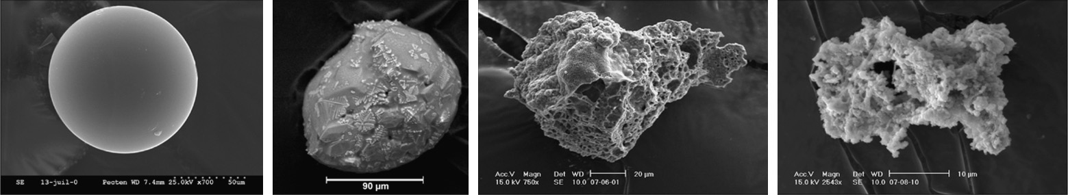 Cosmic spherules and unmelted micrometeorites from CONCORDIA collection