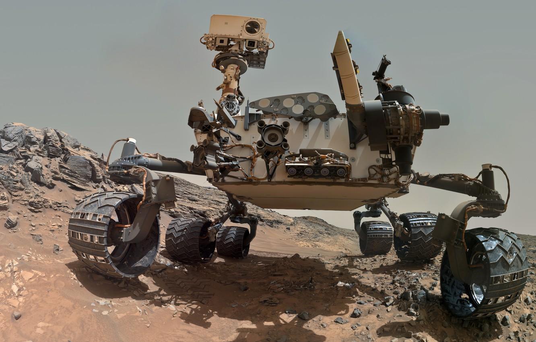 Марсоход <i>Curiosity</i>.