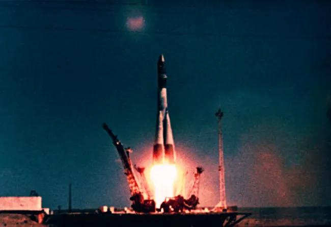 Vostok-1 launch