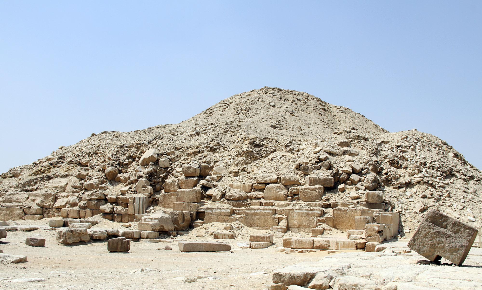 Пирамида Унаса