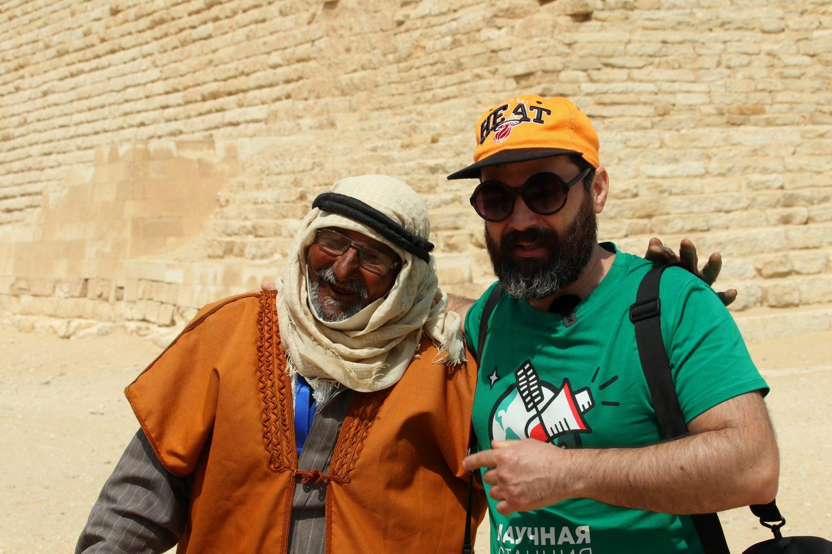 А. Соколов ипожилой бедуин