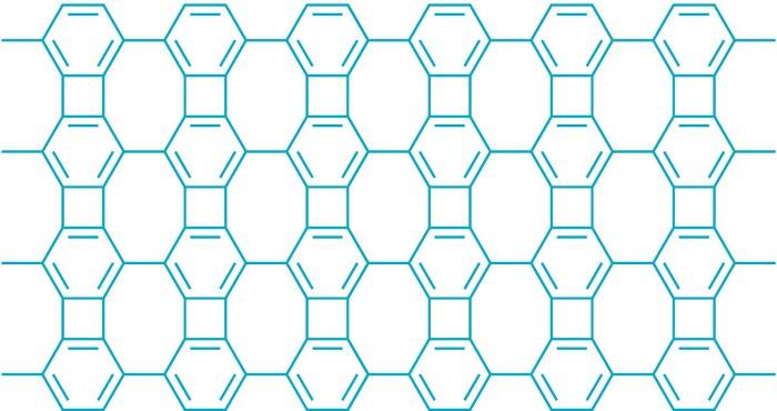 biphenylene network chemical bonds