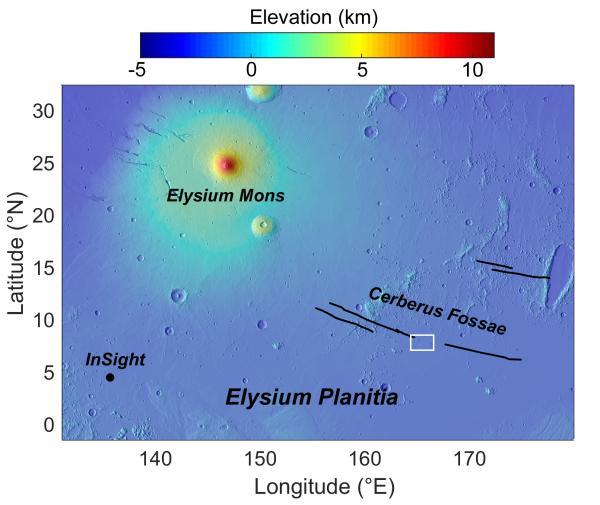 Elysium Planitia and Cerberus Fossae