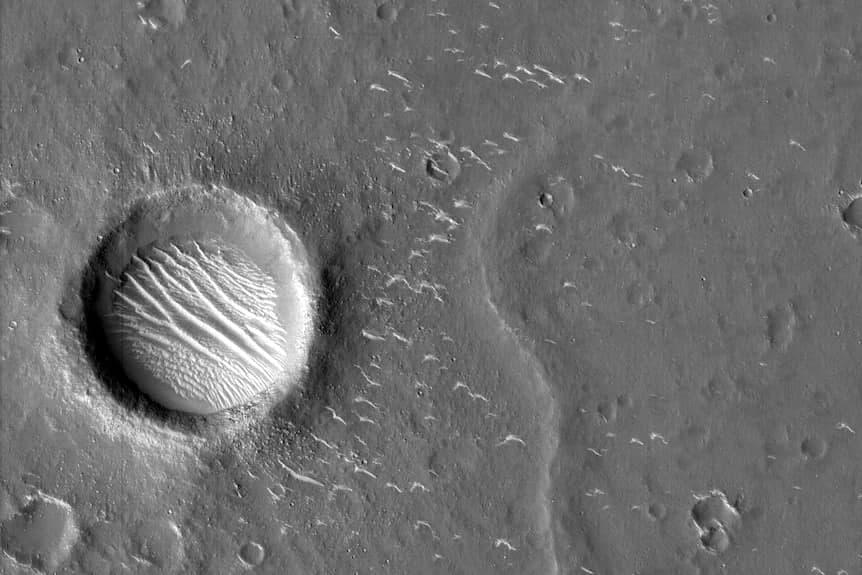 Utopia planitia Tianwen-1 image