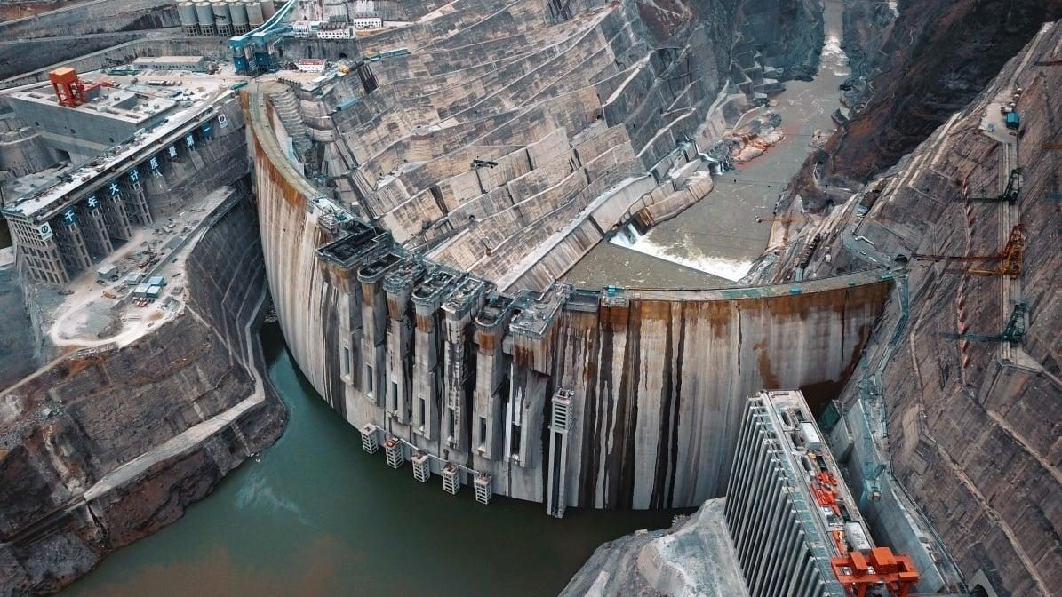 ГЭС  «Байхэтань».