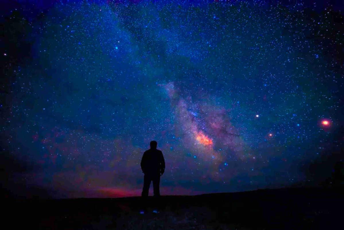 Milky Way over Gobi