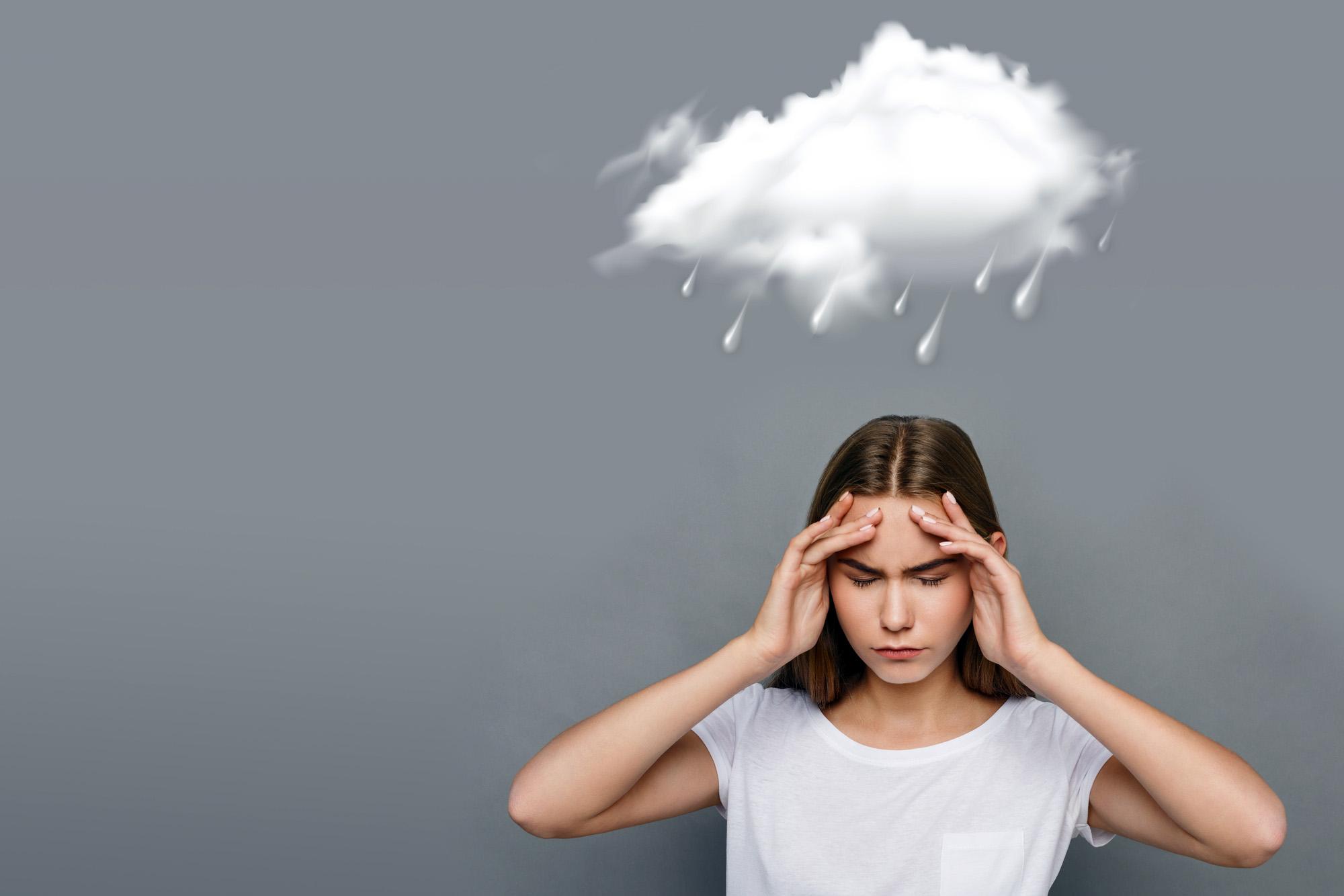 Метеозависимость— это когнитивное искажение, считают учёные.