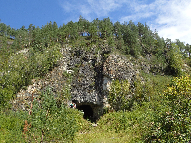 Вход вДенисову пещеру.