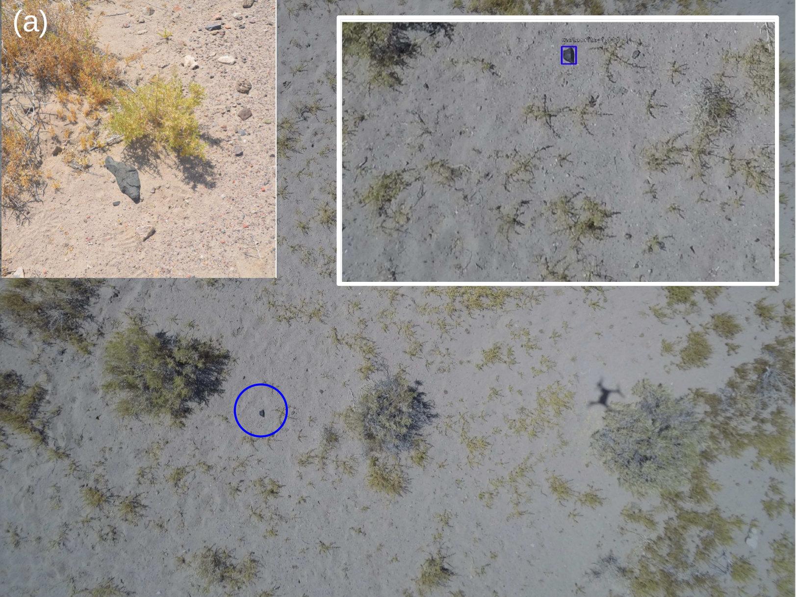 candidate meteorite identified