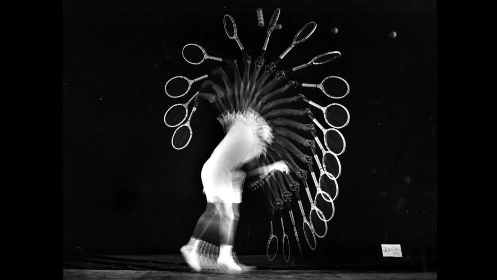 Stroboscopic photo by Harold Edgerton