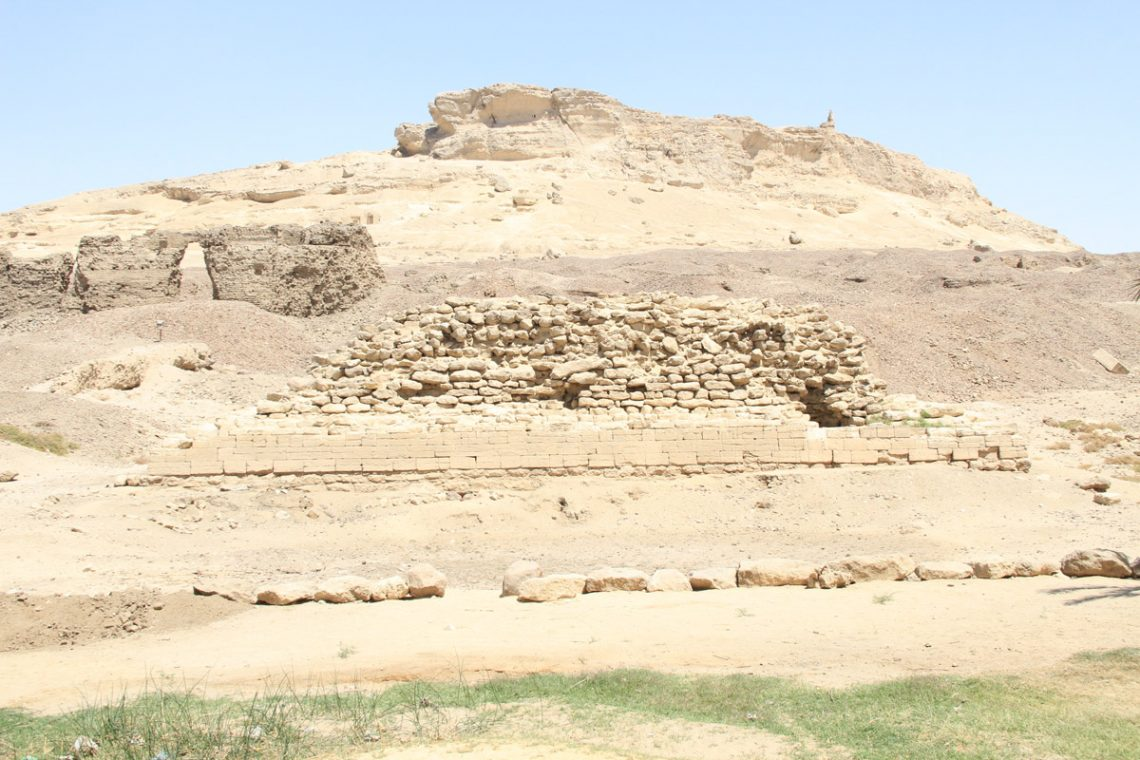 Малая пирамида вЗавьет эль-Майитин