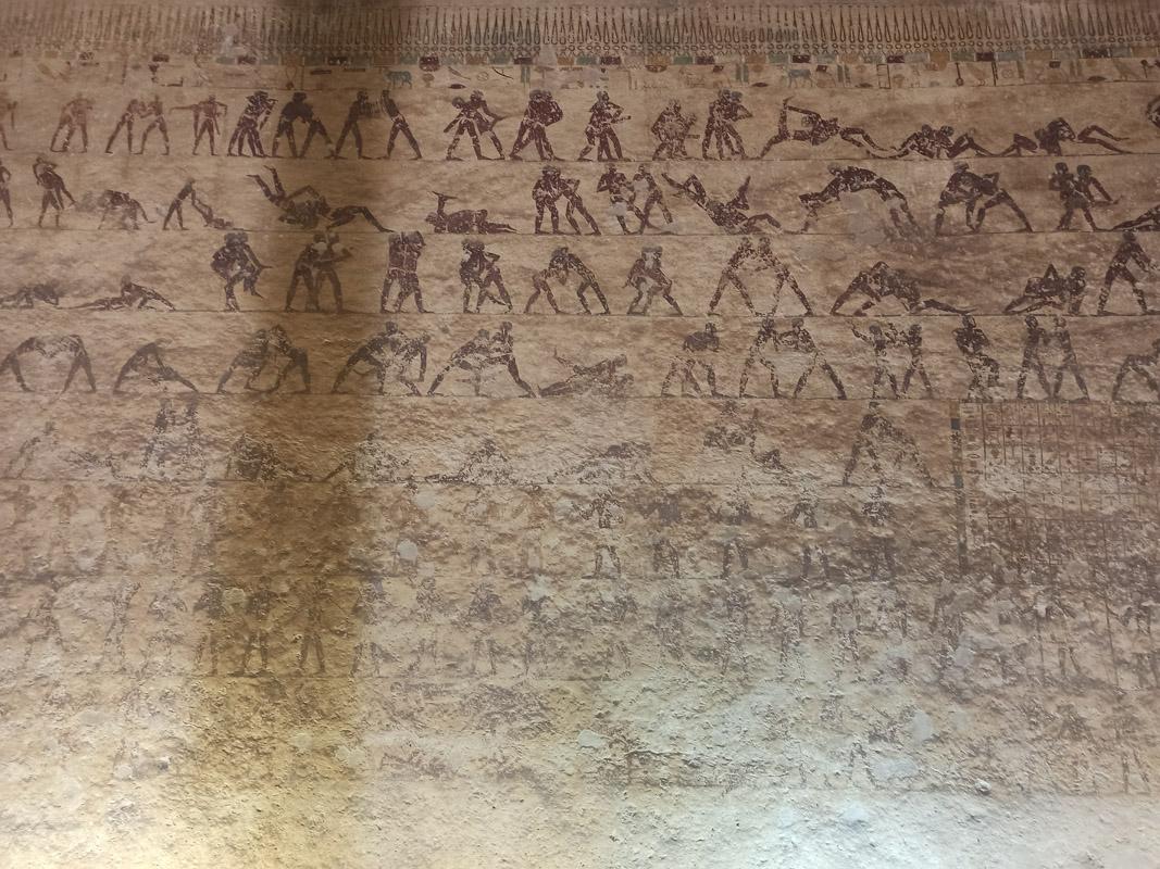 Роспись вгробнице Хети. Спортивные состязания