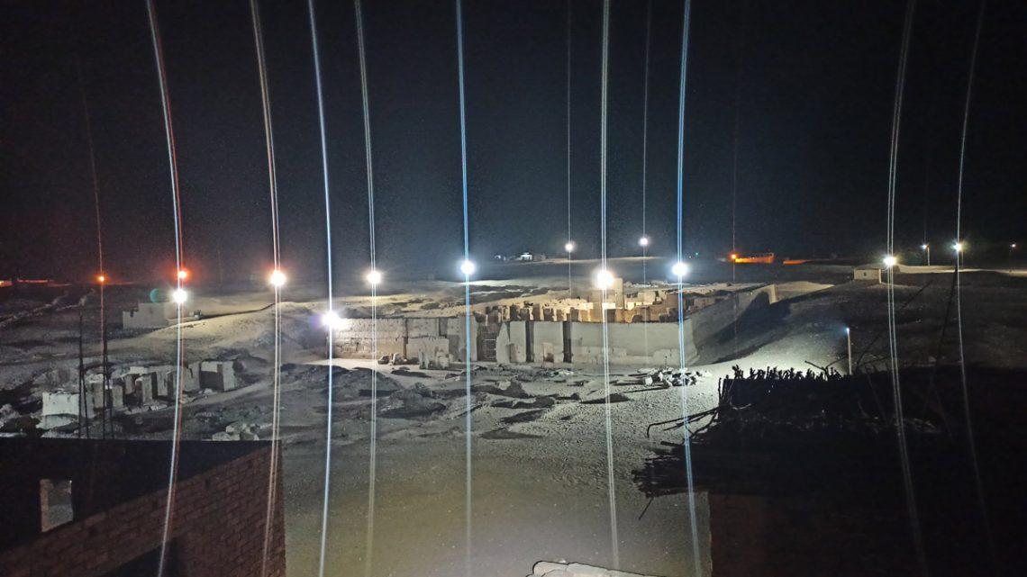 Вид нахрам Рамсеса II вАбидосе скрыши отеля