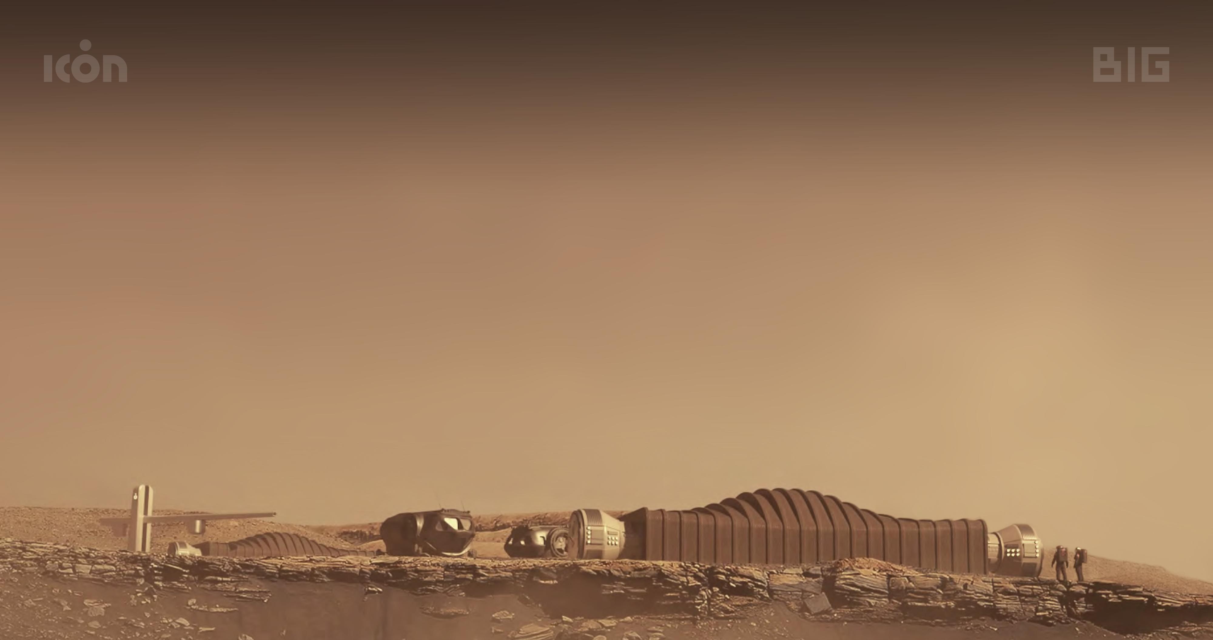 Репортаж из будущего: марсианская база.
