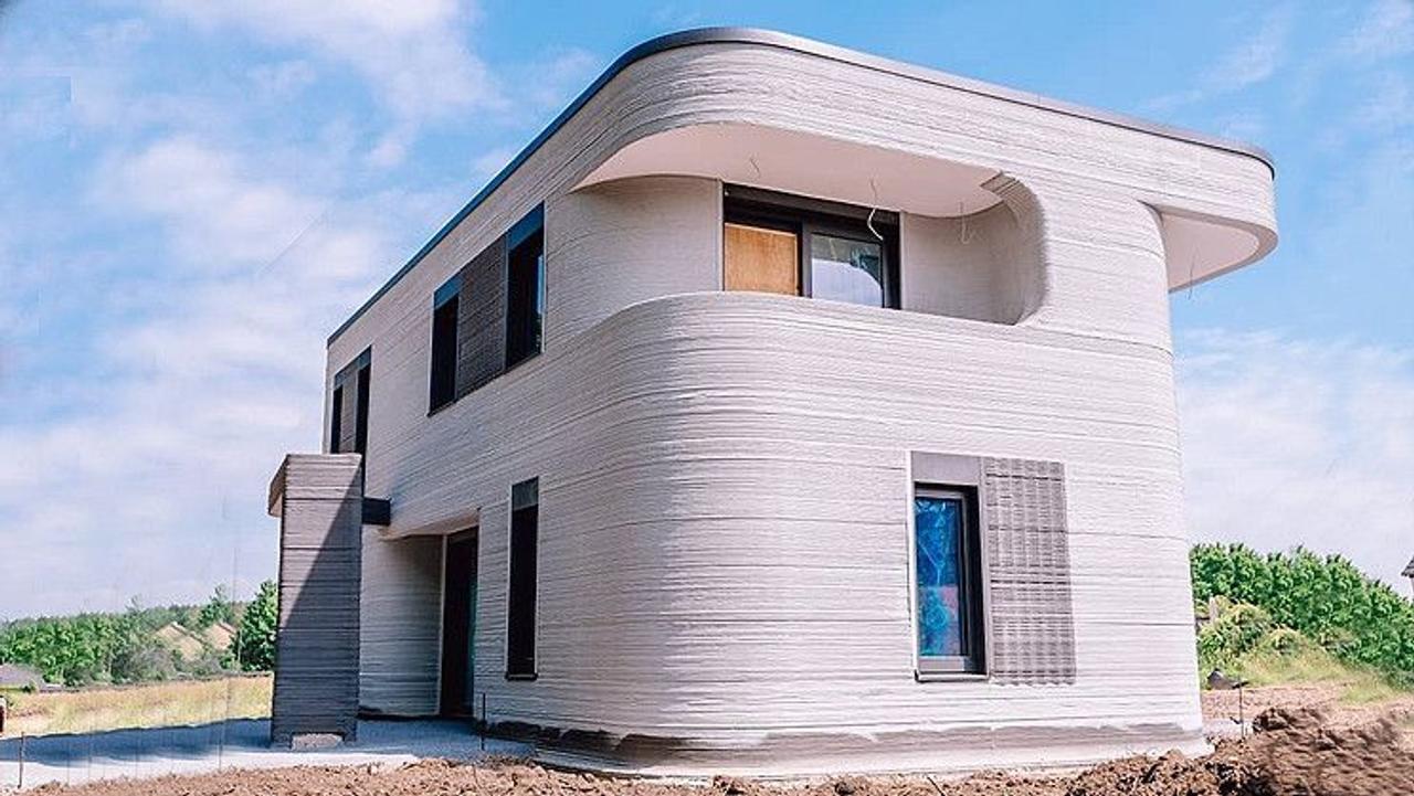 Напечатанный многоквартирный дом. Проект: <em>MENSE-KORTE ingenieure+architekten</em>.