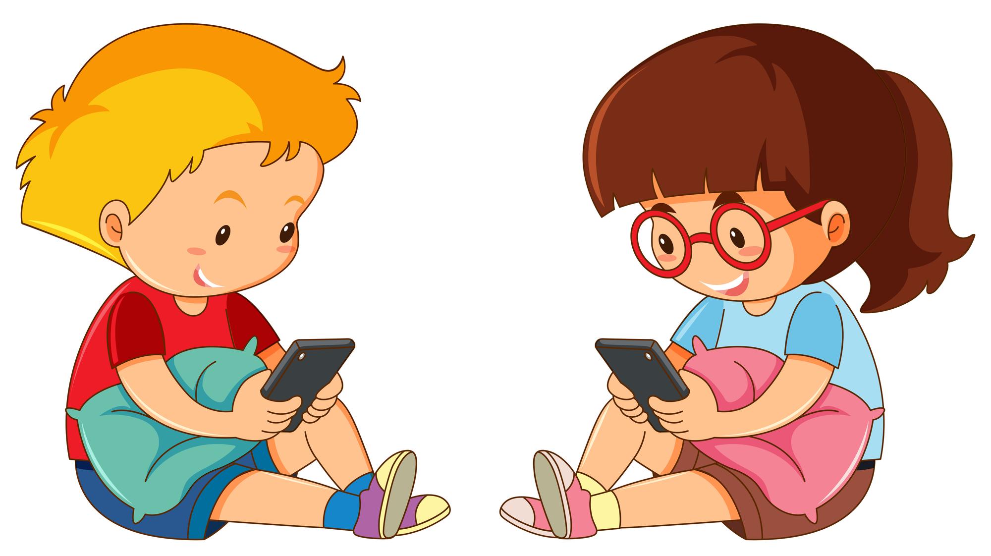 Чем больше времени ребёнок проводит за экраном, тем меньше унего шансов страдать от депрессии итревожности ибольше близких друзей, считают американские исследователи.