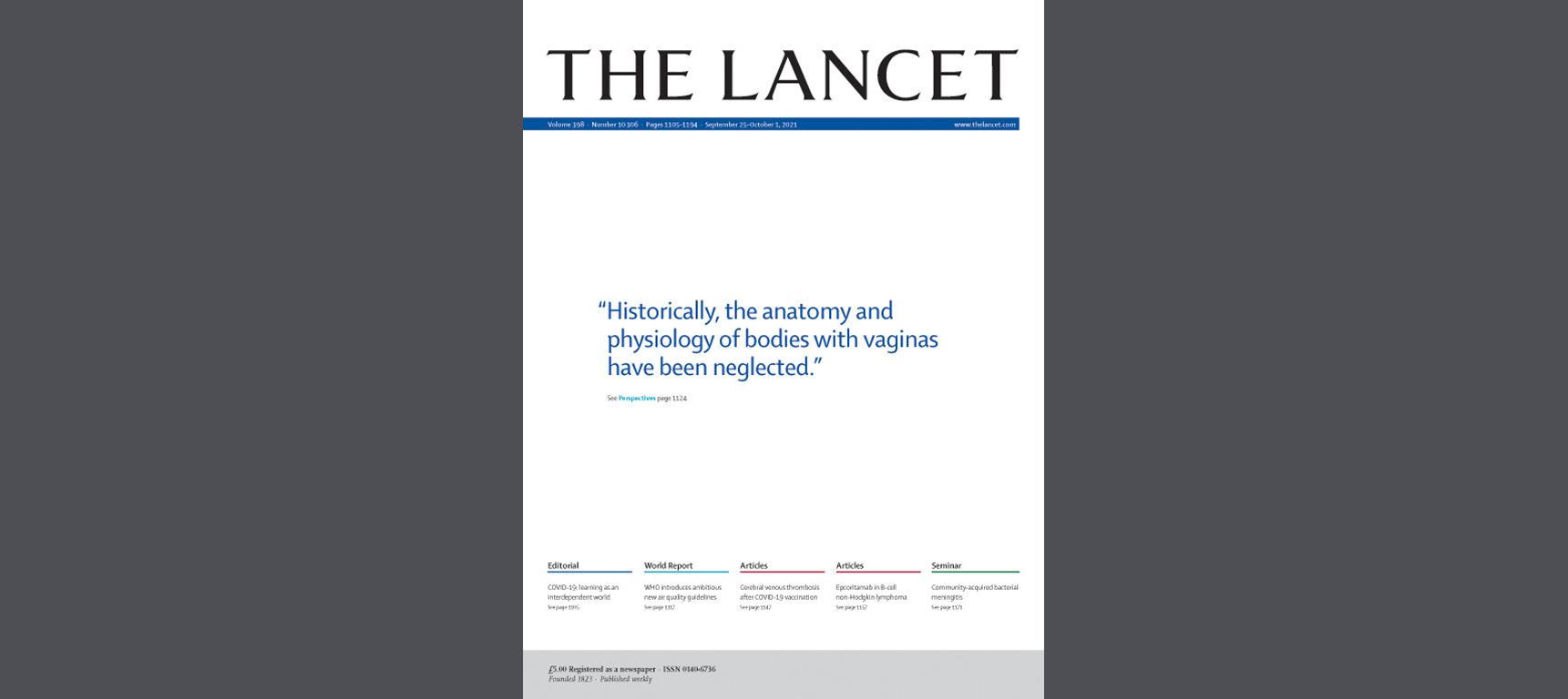 «Тела свагинами»: как The Lancet пытался необидеть трансгендеров, но обидел вообще всех