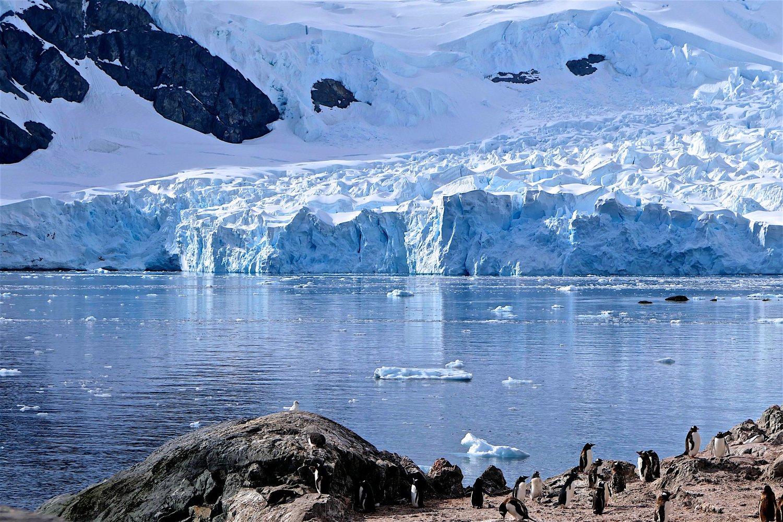 Сизменением климата вечные льды оказываются под угрозой исчезновения втечение следующих ста лет.